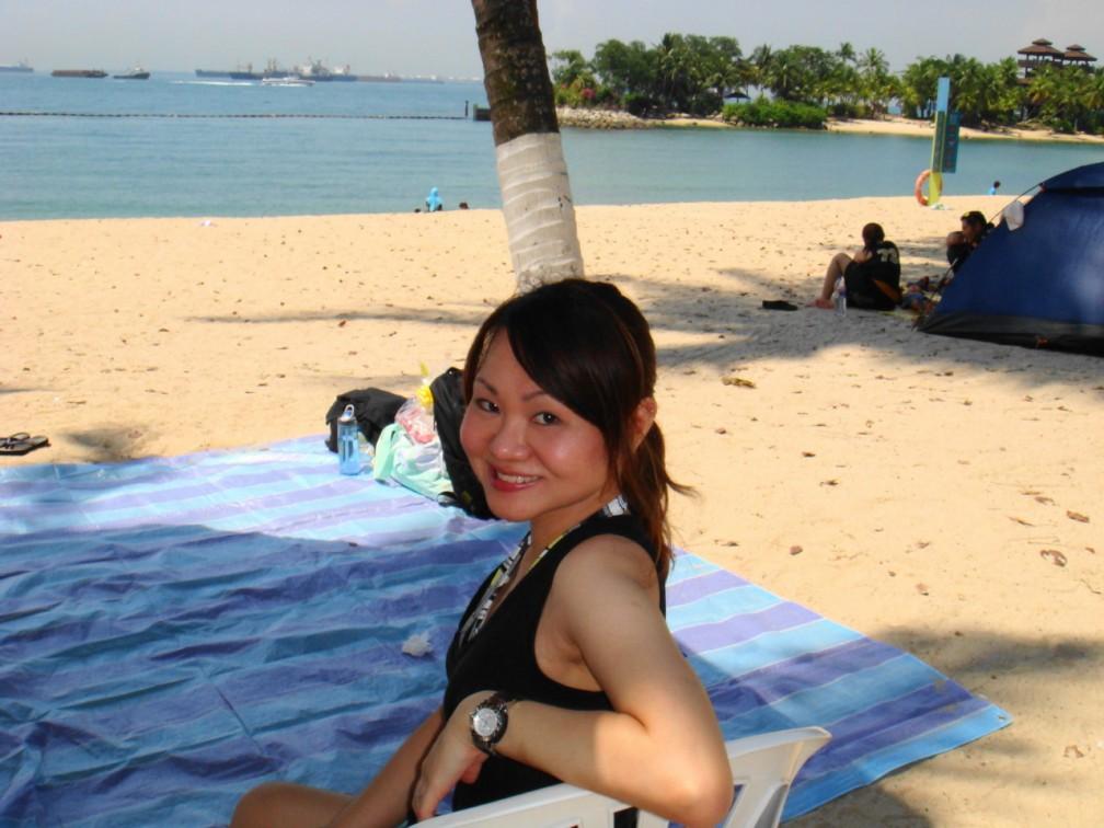 At Palawan Beach